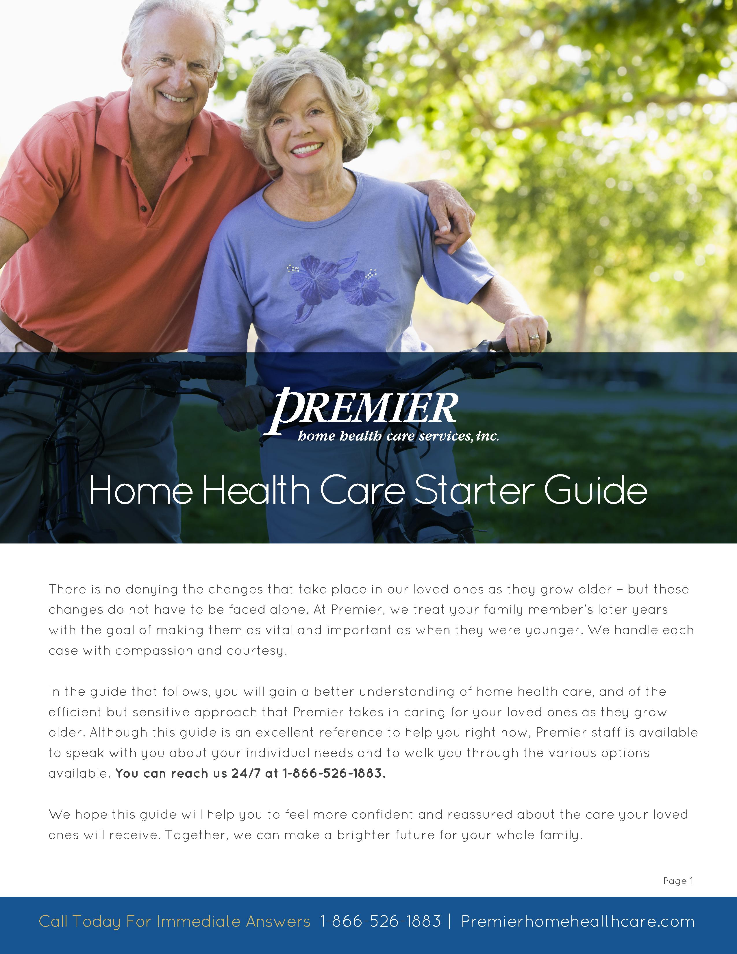 Home Health Care Starter Guide