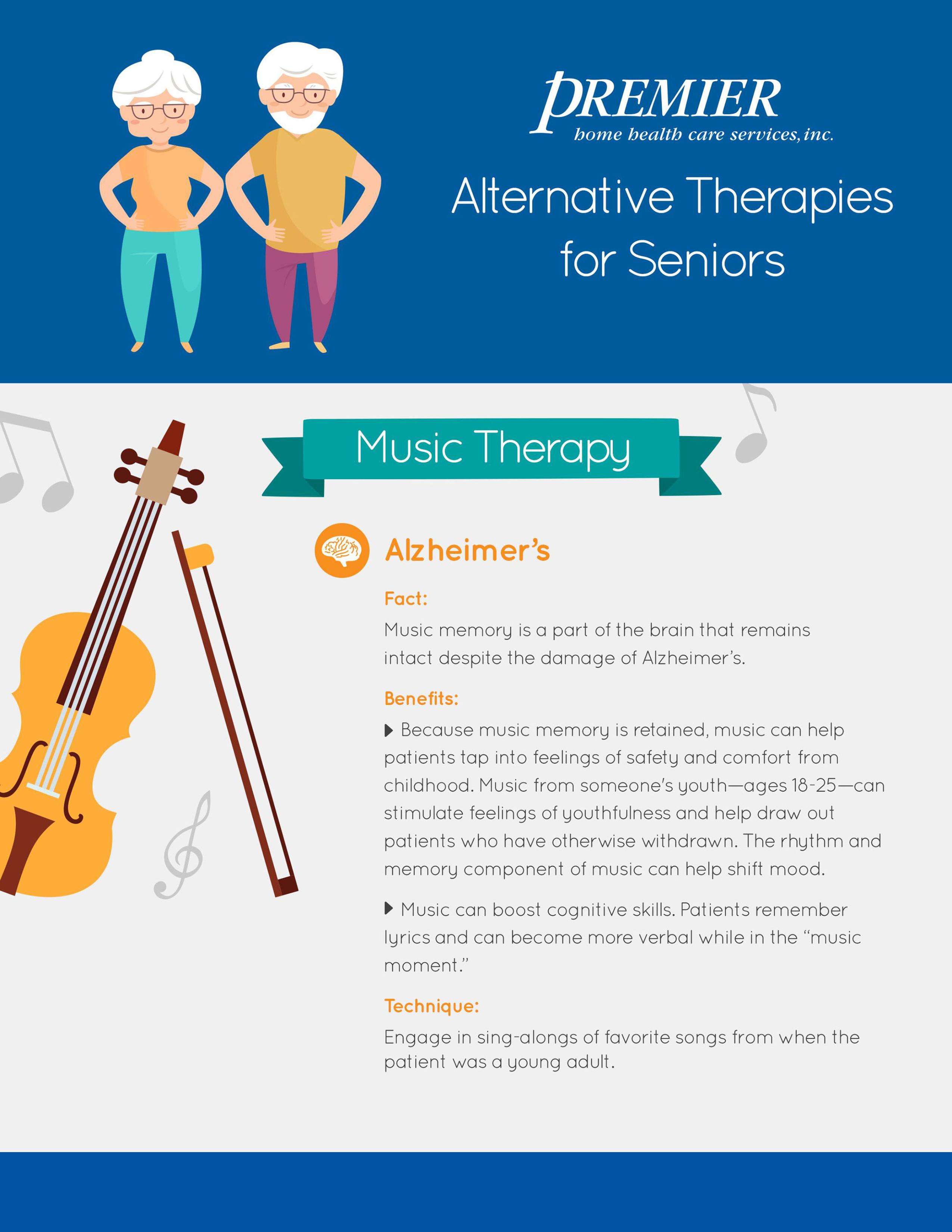 Alternative Therapies for Seniors